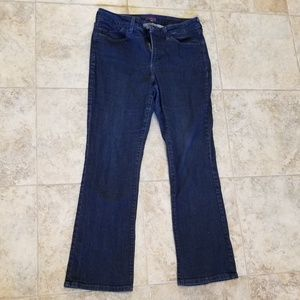 NYDJ Great Condition Boot Cut Lift Tuck Blue Jeans